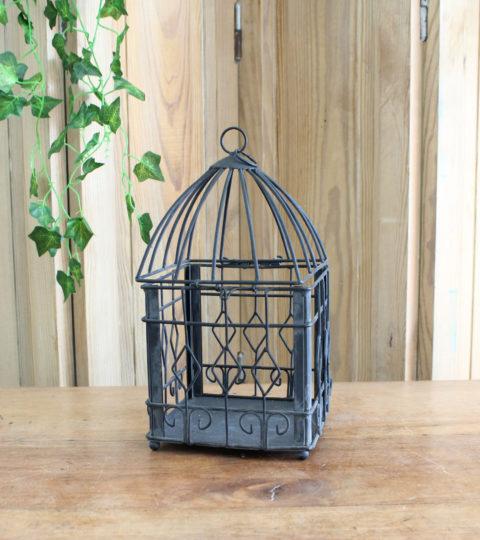 Cage à Oiseau Noire